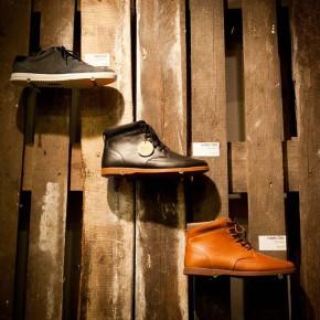 Magasin chaussure tout en palettes