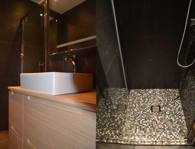 Rénovation salle de bain d'un appartement à six fours les plages