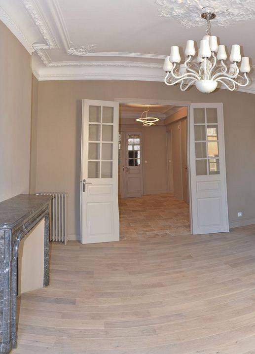R novation appartement de style haussmannien toulon - Renovation appartement haussmannien ...