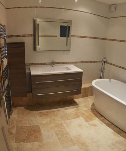 Rénovation et décoration d'une salle de bain à toulon