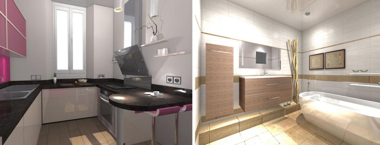 R novation appartement de style haussmannien toulon - Architecte d interieur toulon ...