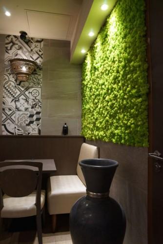 rénovation par architecte d'intérieur du restaurant la Baraka Grand Var La garde