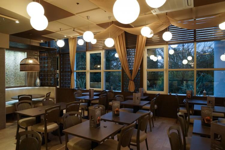 architecture int rieure restaurant la baraka grand var. Black Bedroom Furniture Sets. Home Design Ideas