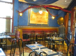 Salle restaurant marocain avant travaux d'agencement