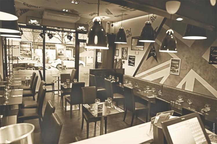 sepia intérieur le rock restaurant cool à hyeres