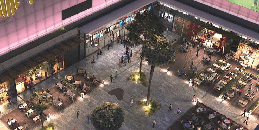 Agencement commercial centre commercial l'avenue 83 a la garde la valette