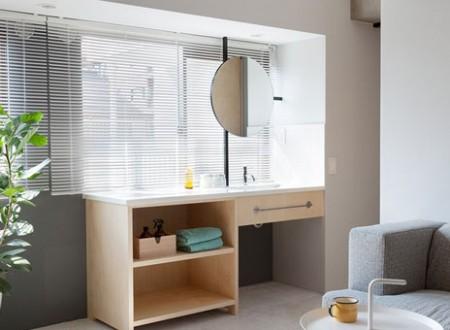 Décoration moderne suédoise d'un appartement par un architecte d'intérieur