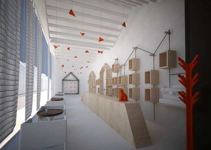 Agencement esprit tunisien pour ce design frais par Fares Dhifi