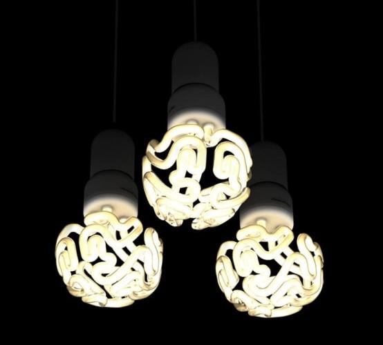lampe ampoule cerveau