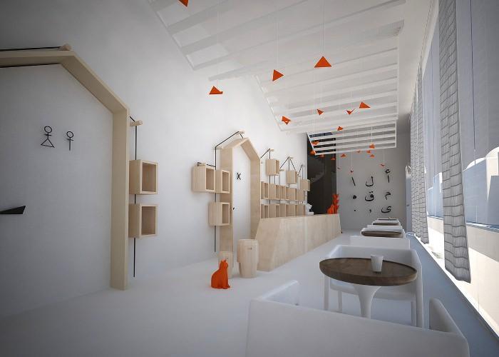 Le café Al maqha par Fares Dhifi architecture espace france blog espritdesign 1