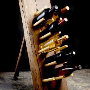 Porte bouteille original de designer