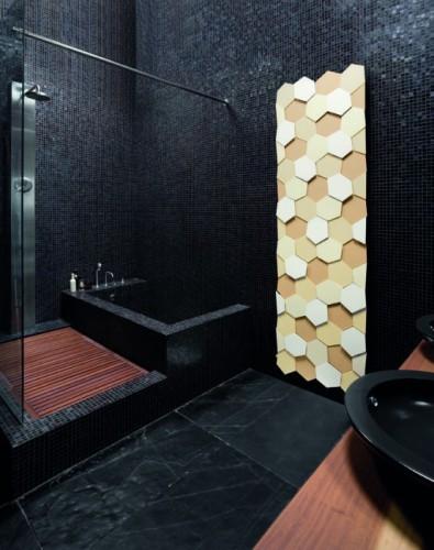 Radiateur beige jaune décoratif pour design d'intérieur