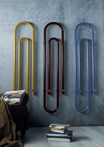 Chauffage design forme trombone