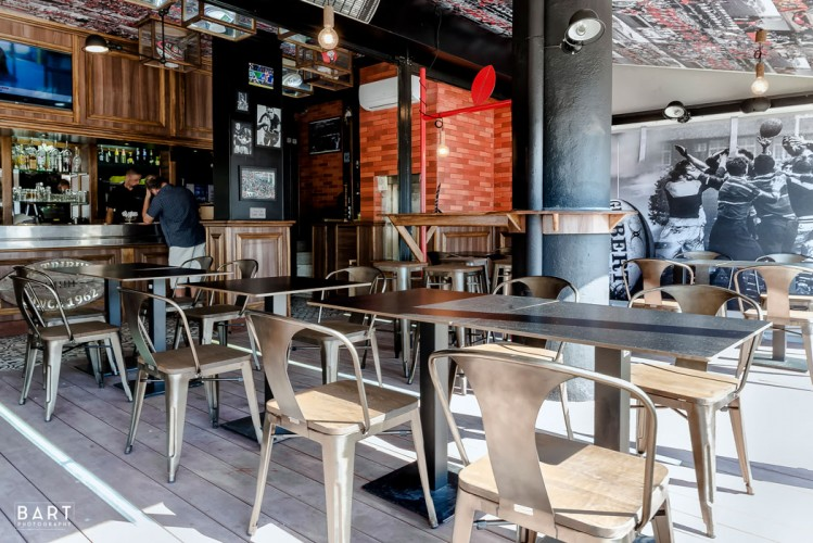 Rénovation et décoration d'une brasserie à Toulon
