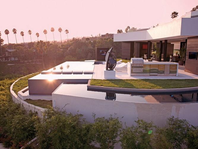 Villa ultramoderne avec piscine géante et vue magnifique