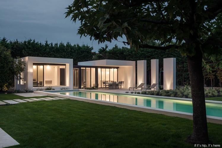 piscine et villa moderne dans le sud de la france - Architecture contemporaine