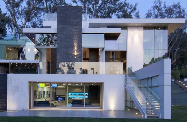 Architecture villa contemporaine