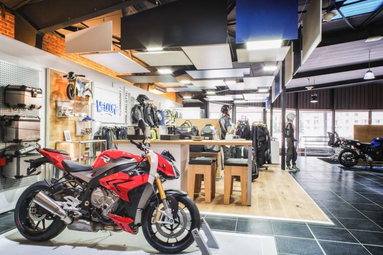 Conception concession BMW moto Aménagement intérieur Toulon 83 Var