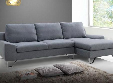 Canapé d'angle scandinave