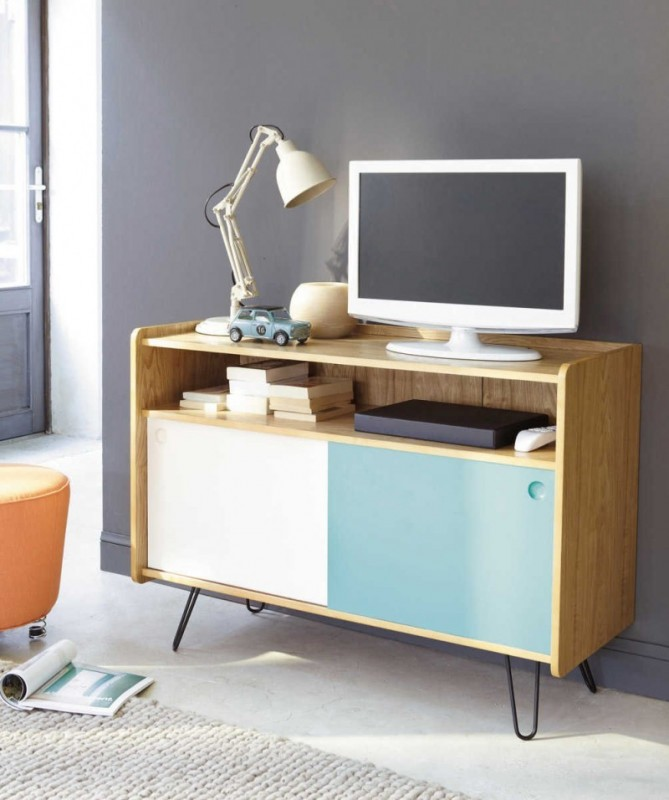La d co scandinave revient en force - Meuble tv style scandinave ...