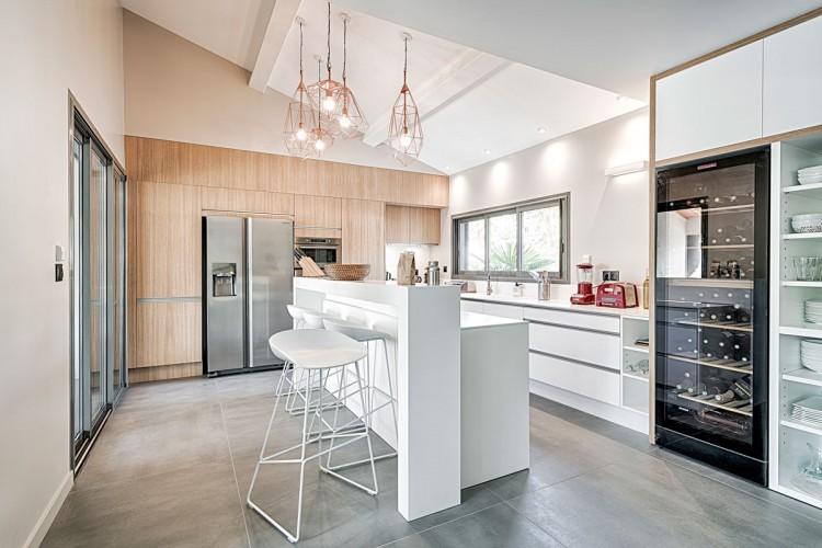 Cuisine moderne d'architecte à toulon