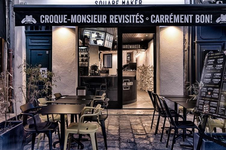 Façade squaremaker Aix en Provence