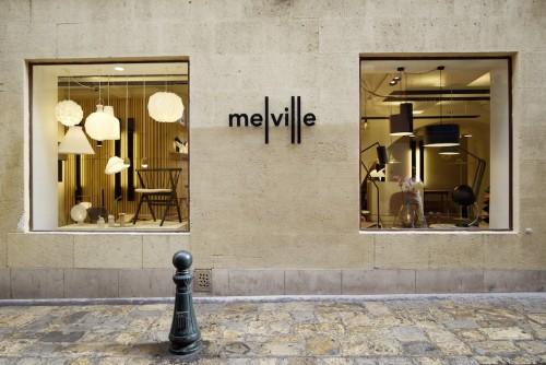 Melville, luminaire, boutique