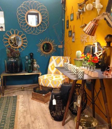 Intérieur aménagement déco d'une petite boutique à aix rue Paul Bert