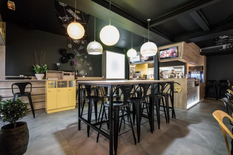 Design d'intérieur d'un restaurant
