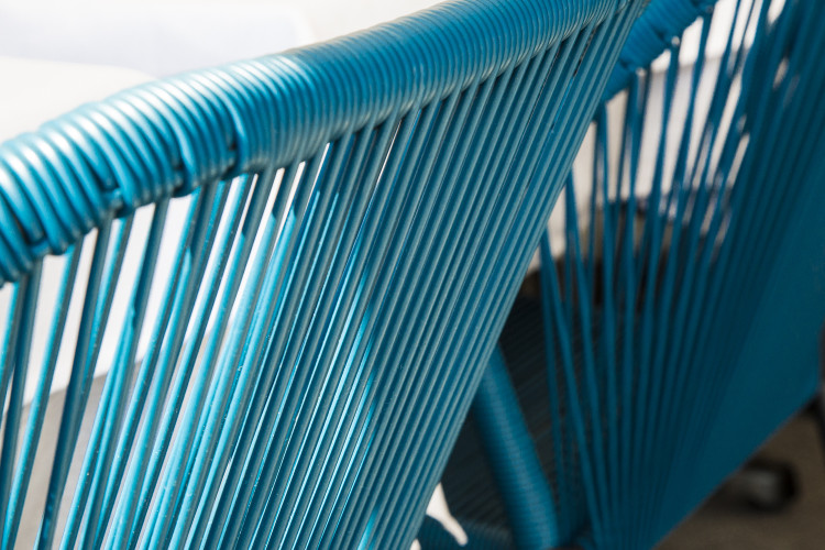 chaise bleu architecte d'intérieur