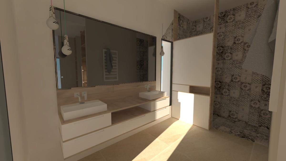 plan d 39 architecte d 39 int rieur maison scandinave var. Black Bedroom Furniture Sets. Home Design Ideas