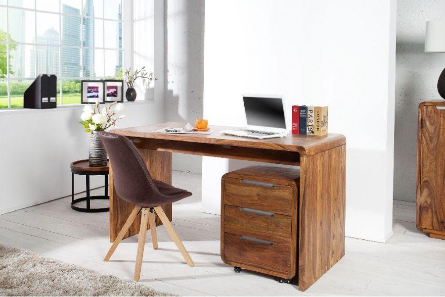 Bureau Chloe design en bois style ancien