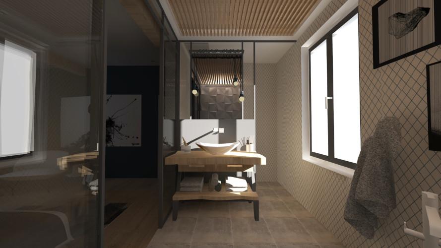 Baignoire 3D salle de bain toulon
