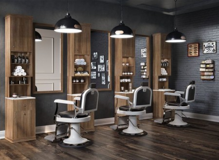 barber shop ultra design