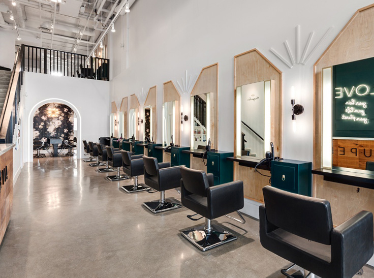 Agencement Et Decoration Salon De Coiffure Et Barber Shop