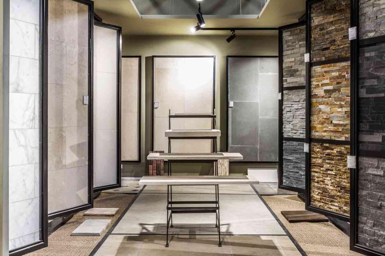 mise en valeur produits par architecte d'intérieur