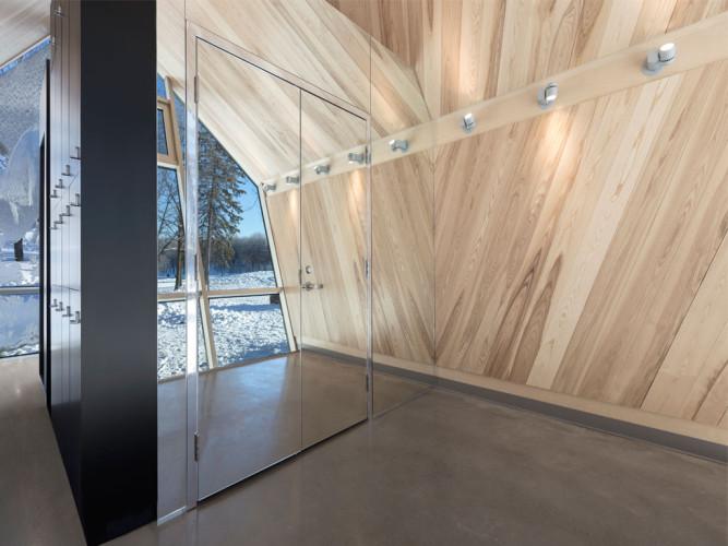 design et architecture porte en verre