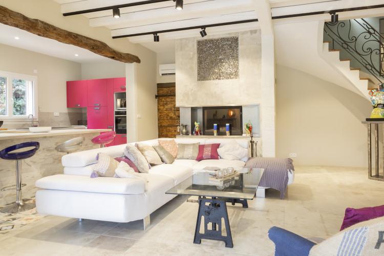 Salon maison provençale