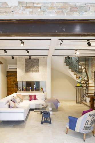Salon maison provençale - archi intérieur toulon