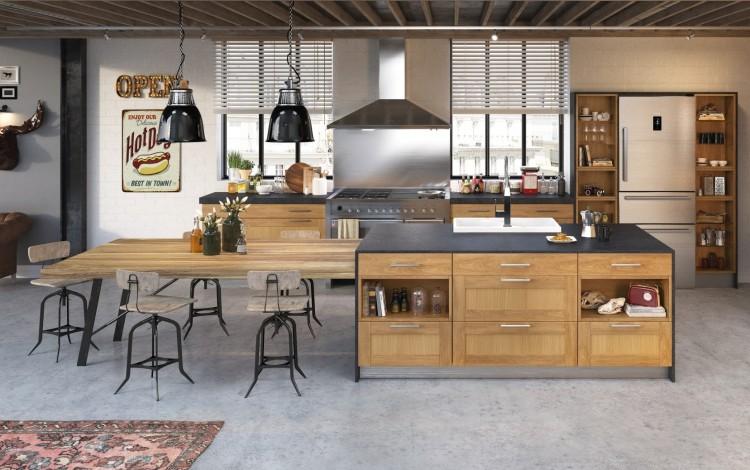 salon cuisine ouverte et combiné