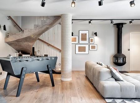 beau salon de 40m² fait par CT CREATION TOULON