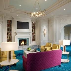 salon coloré pour personnes agée par architecte d'intérieur