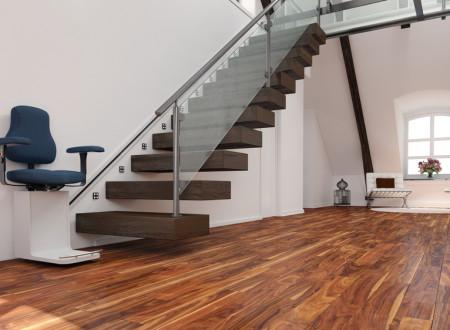 monte escalier avec escalier design