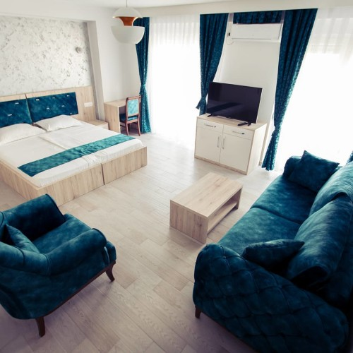 belle chambre bleu hotel