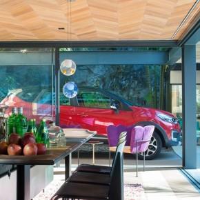 Baies vitrées luxe architecture intérieure
