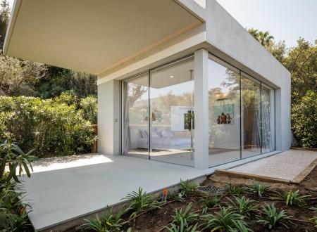 Baies vitrées luxe architecture extérieure