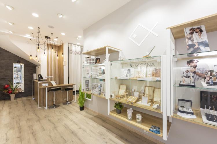 intérieur design bijouterie saqana toulon