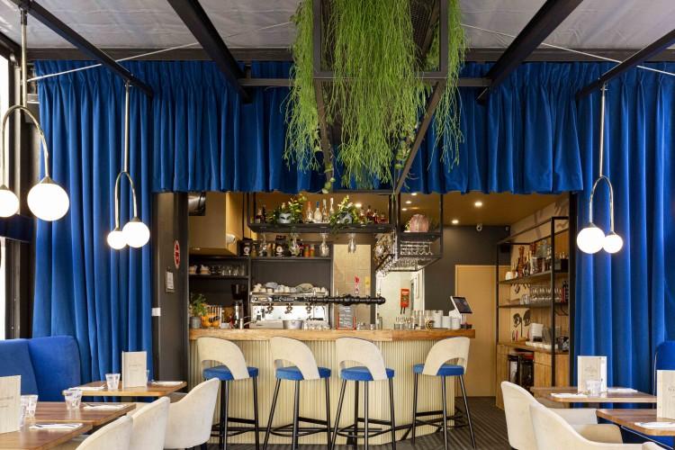 design d'intérieur du brasserie moliere à toulon