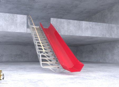 Escalier toboggan stark