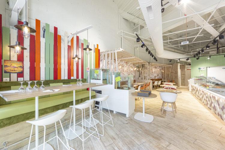 design d'intérieur restaurant L'Ostréa